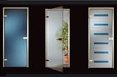 Стеклянные интерьерные двери для дома и офиса