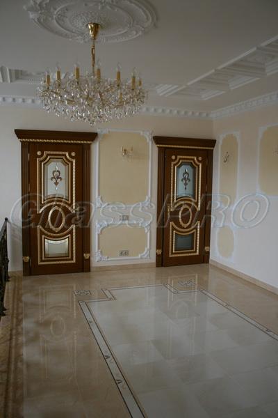 Витраж Тиффани, межкомнатные двери, частный дом - Киев