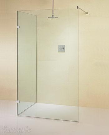 Модель SP-08. Угловое стеклянное душевое ограждение
