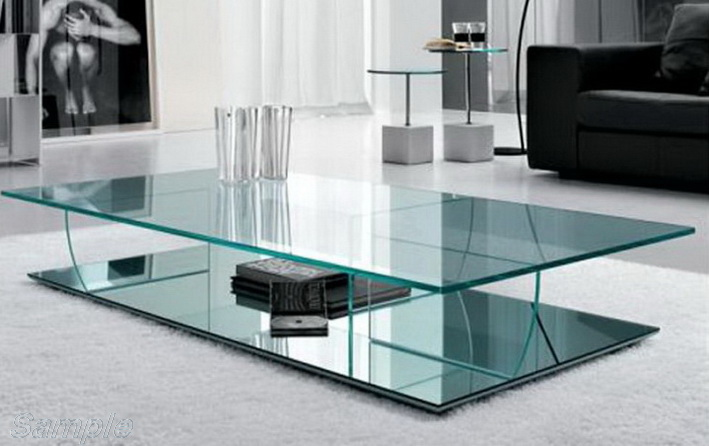 Tempered glass is used to make glass tables