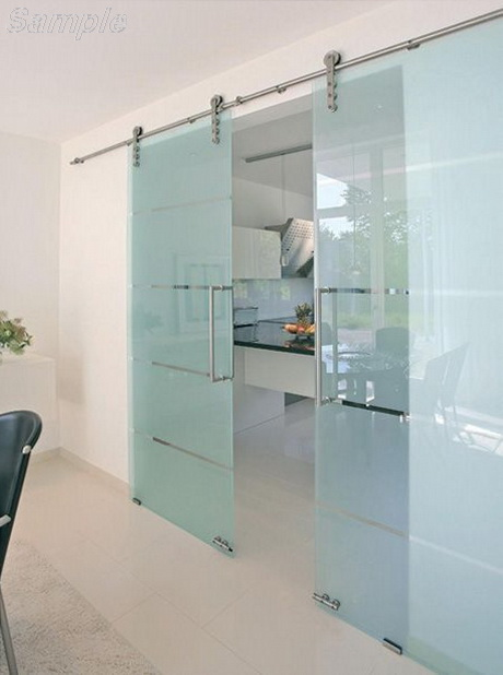 Tempered glass is used to make interior sliding doors