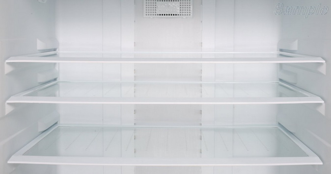 Tempered glass is used as shelves in household refrigerators
