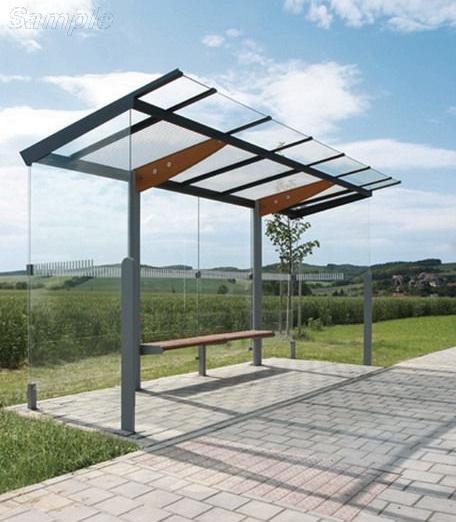 Закаленное стекло применяется для изготовления козырьков и навесов