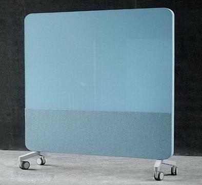Мобильные стеклянные офисные перегородки