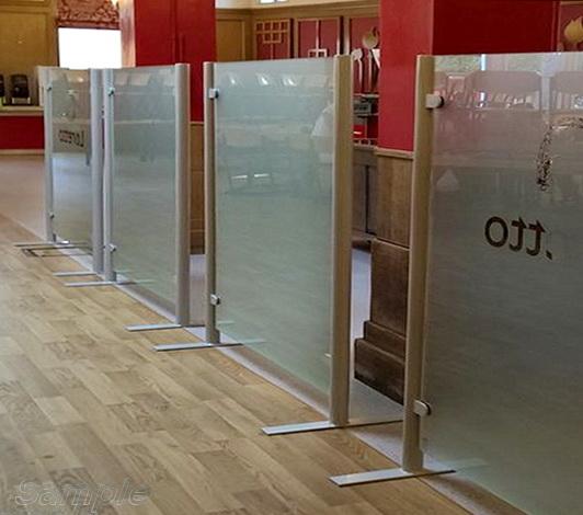 Мобильные стеклянные перегородки Киев