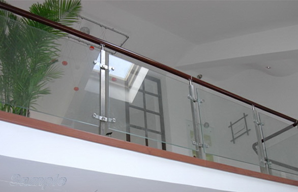 Triplex - glass railing