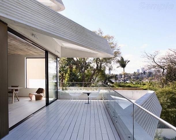 Триплекс - ограждение балкона