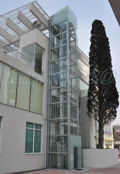 Остекление лифтовой шахты, ГК «Respect Hall Resort & SPA» - Кореиз