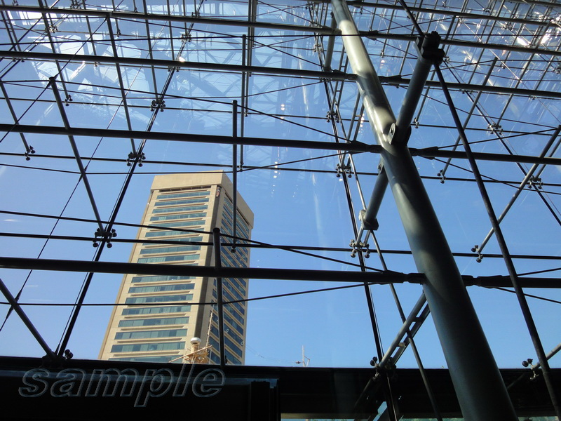 Facade spider glazing on cable system