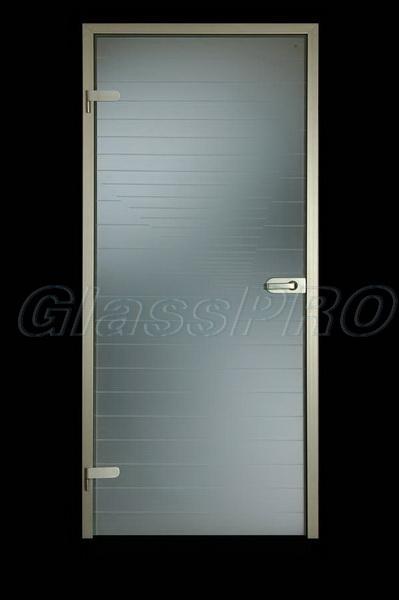 Стеклянные интерьерные двери