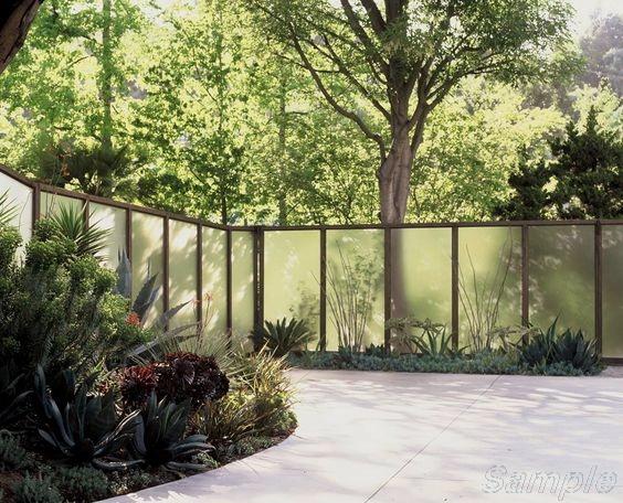Model GF-01. Framed glass patio railing