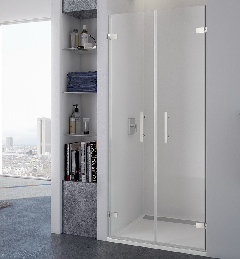 Model SD-05. Double Swing Glass Shower Door