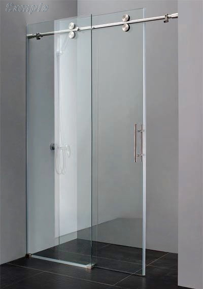 Model SD-07. Glass sliding shower door