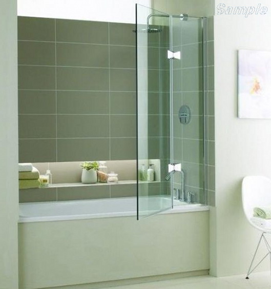 Model BS-05. Hinged glass door on a fixated element