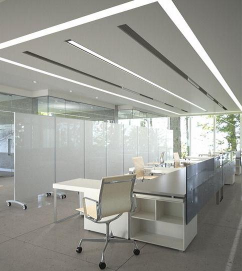 """Мобильные стеклянные перегородки обеспечат возможность быстрой трансформации офисного помещения - <span style=""""color: #ffff00;""""> Увеличить!</span>"""