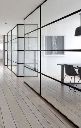 """Стеклянные офисные перегородки - надежные изящные конструкции <span style=""""color: #ffff00;""""> Увеличить!</span>"""