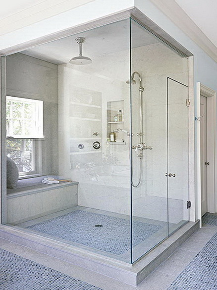 """Наиболее популярный вид - угловая стеклянная душевая кабина станет истинным украшением вашего дома <span style=""""color: #ffff00;"""">Увеличить!</span>"""