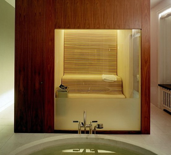Glass doors for saunas and steam rooms