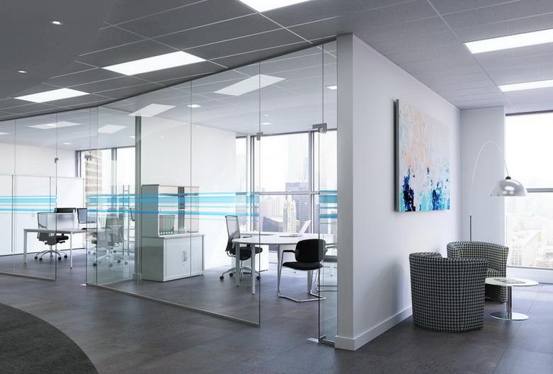 """Закаленное стекло - стильное решение для офисных перегородок - <span style=""""color: #ffff00;""""> Увеличить!</span>"""